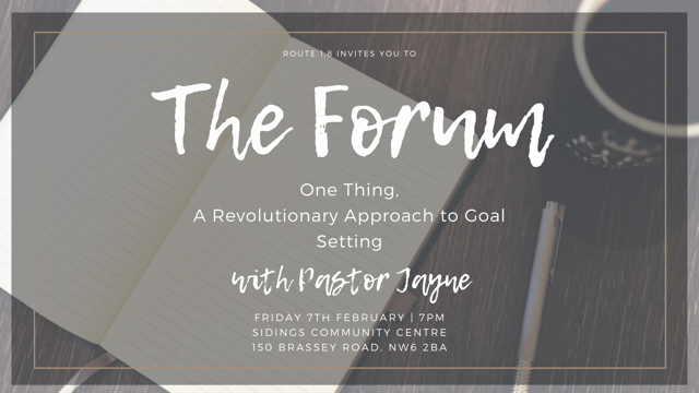 Route 1:8 presents: The Forum